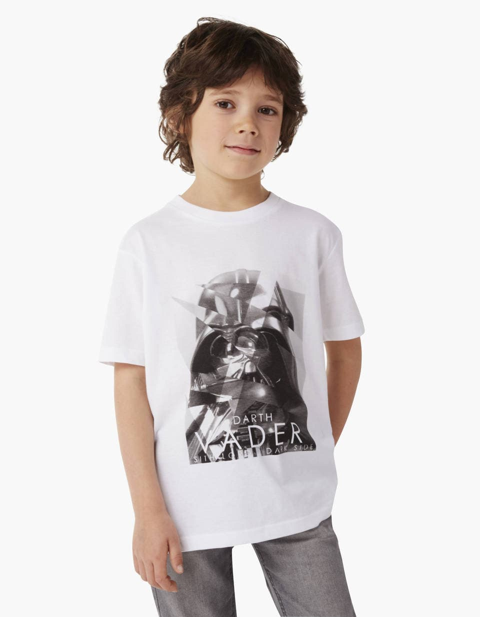 t shirt enfant star wars dark vador lcefragk celio france. Black Bedroom Furniture Sets. Home Design Ideas