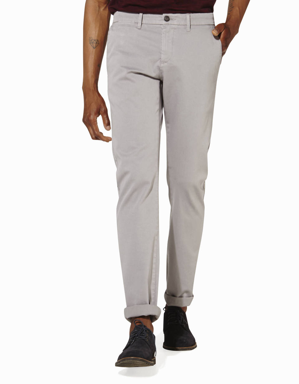 Pantalon slack coupe straight