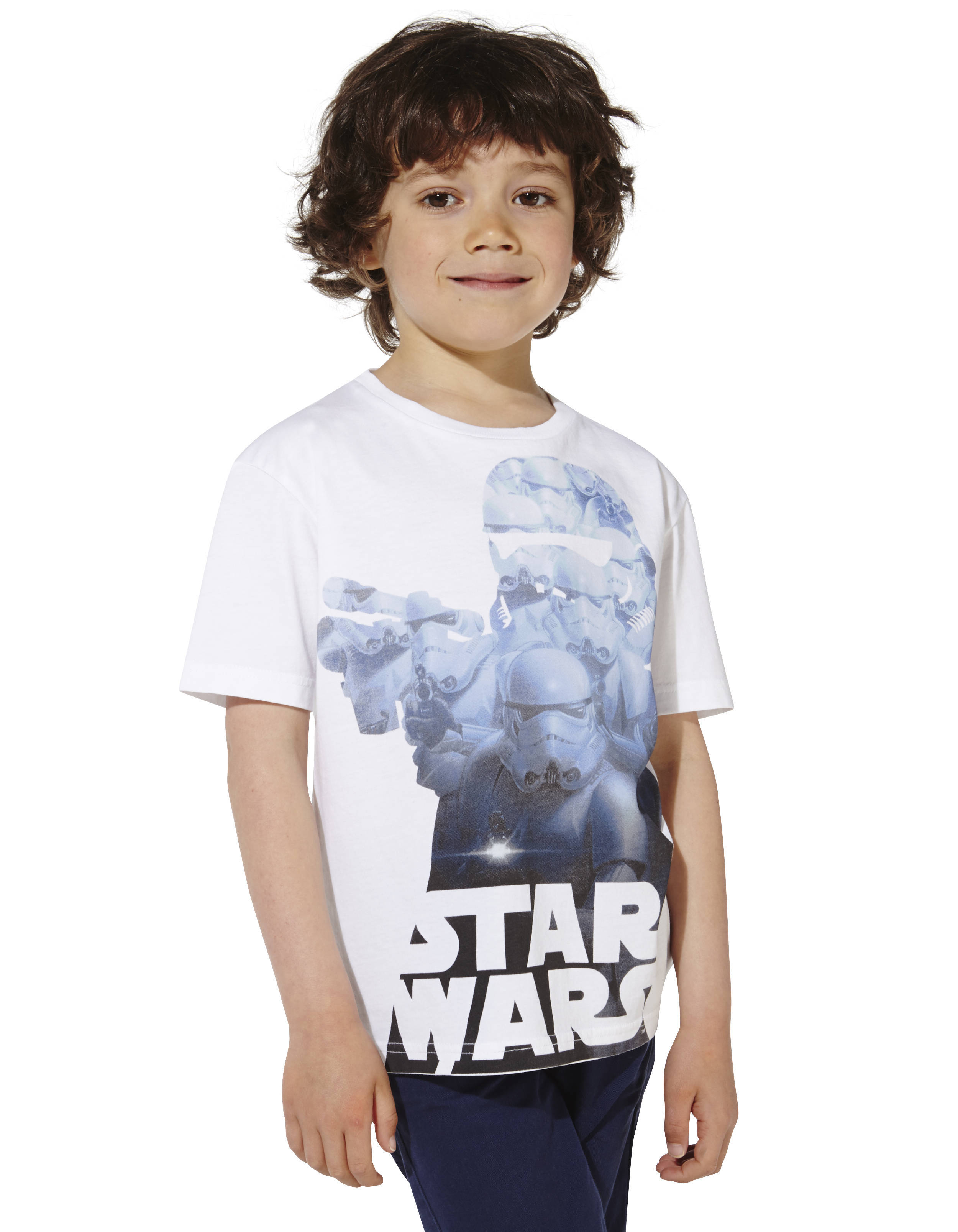t shirt enfant star wars 100 coton lbestorm2 celio france. Black Bedroom Furniture Sets. Home Design Ideas