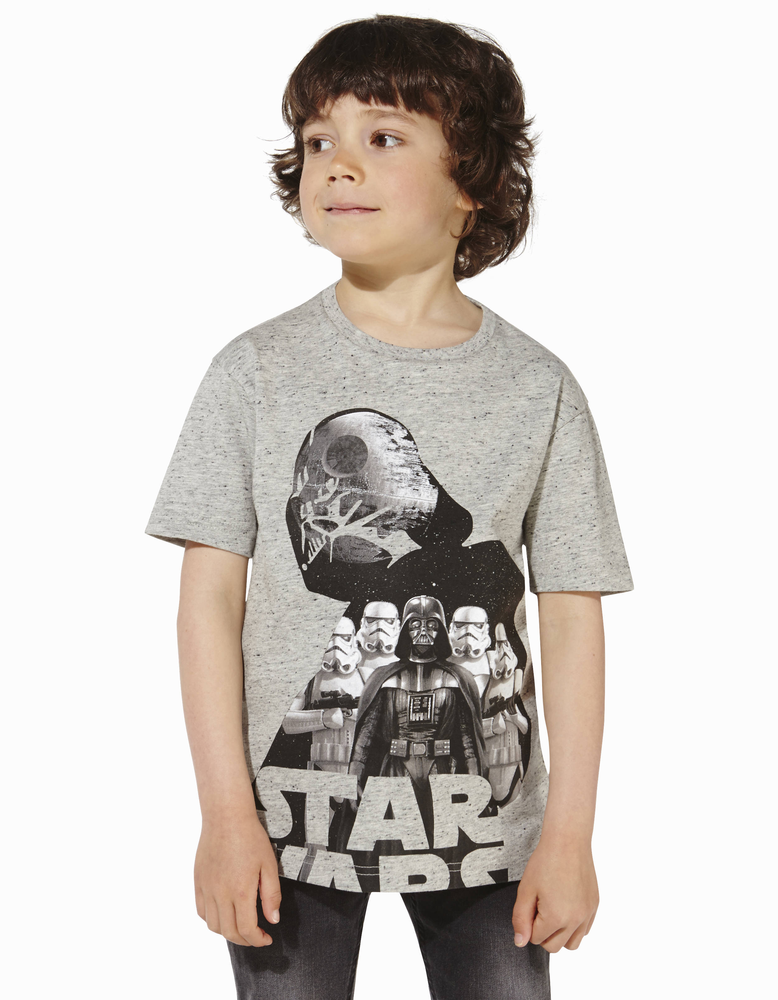 t shirt enfant star wars licence dark vador lbevador2 celio france. Black Bedroom Furniture Sets. Home Design Ideas