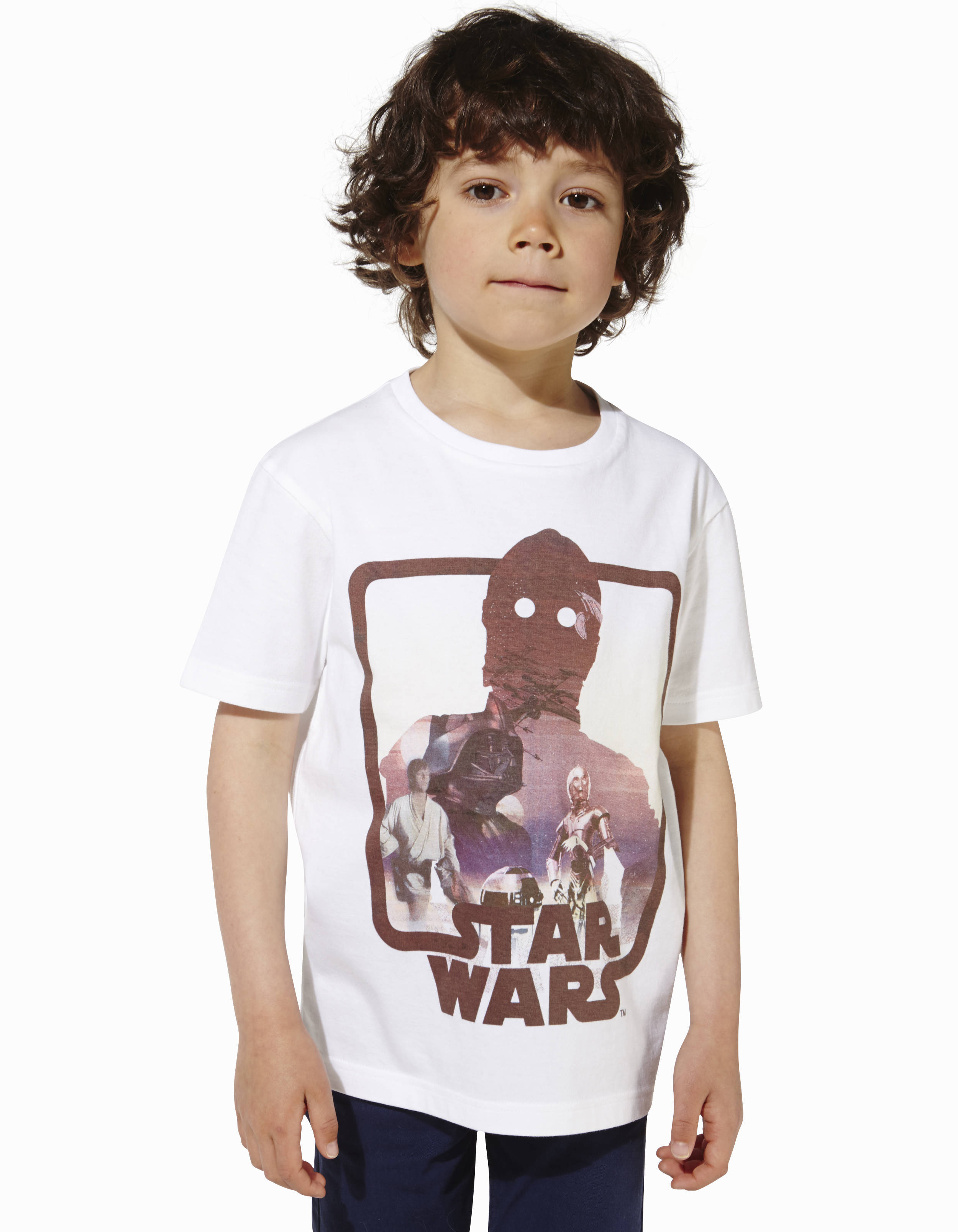 t shirt enfant star wars 100 coton lberobot2 celio france. Black Bedroom Furniture Sets. Home Design Ideas