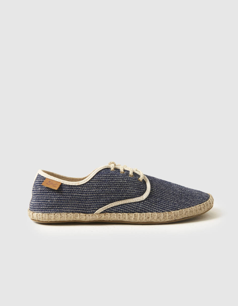 Derbies espadrilles bicolores