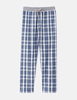 Pyjama long motifs carreaux - FIPYCARO_BLUE - Non défini - Celio France