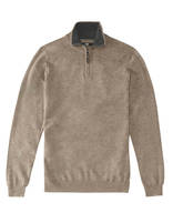 Pull straight chiné - SELIM_HEATHERTAUPE01 - Image à plat - Celio France