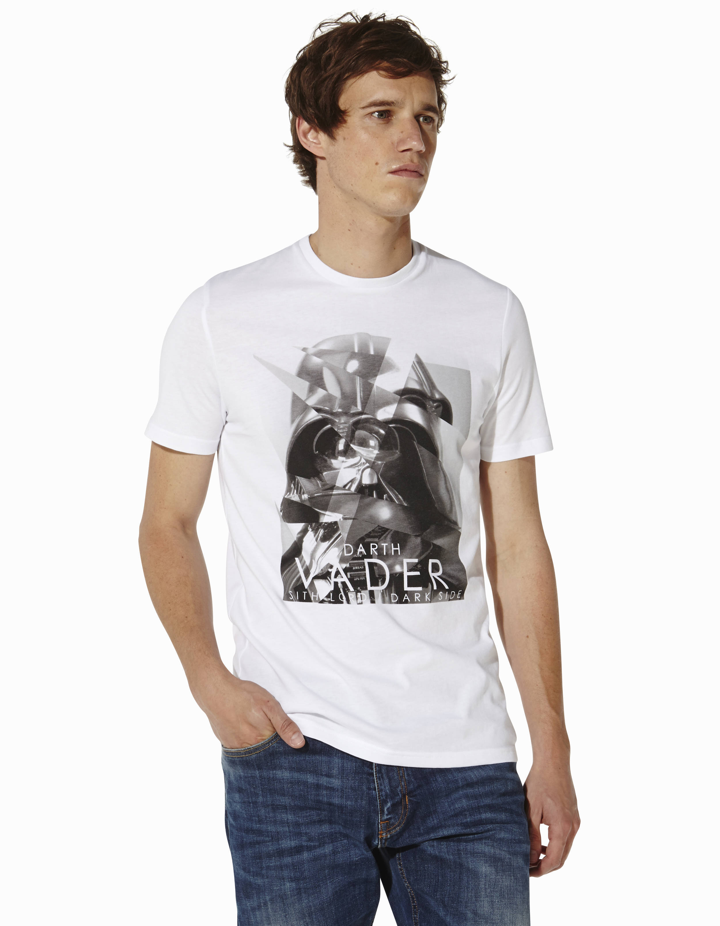 t shirt star wars dark vador lcefrag celio france. Black Bedroom Furniture Sets. Home Design Ideas