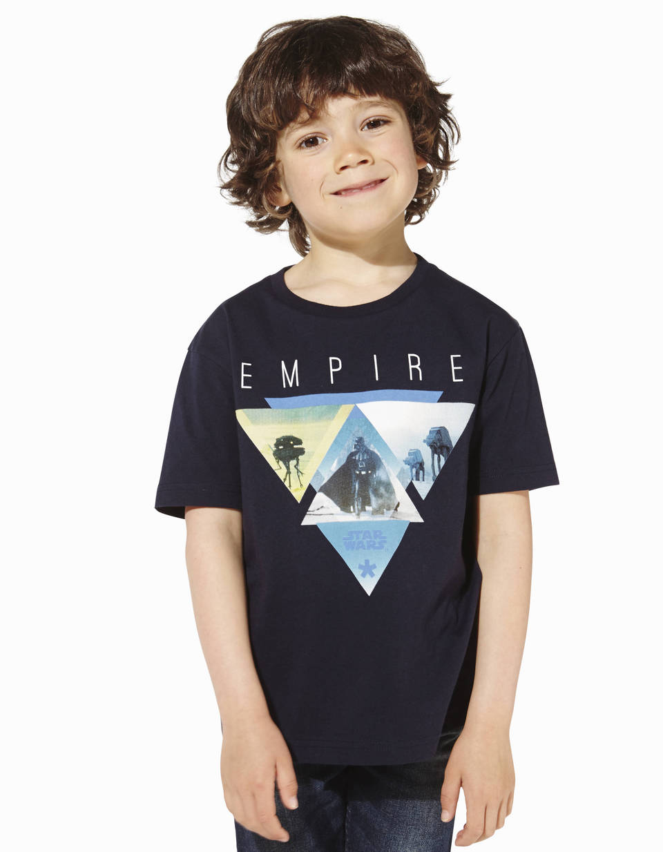 t shirt enfant star wars 100 coton lbeempire2 celio france. Black Bedroom Furniture Sets. Home Design Ideas