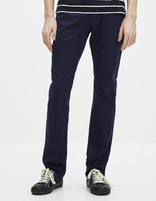 Pantalon slim 5 poches - GODOBY_NAVY799 - Vue de face - Celio France