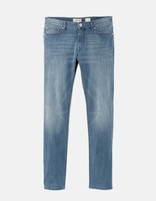 Jean slim stretch 5 poches - GOBARIS_STEELBLUE - Image à plat - Celio France