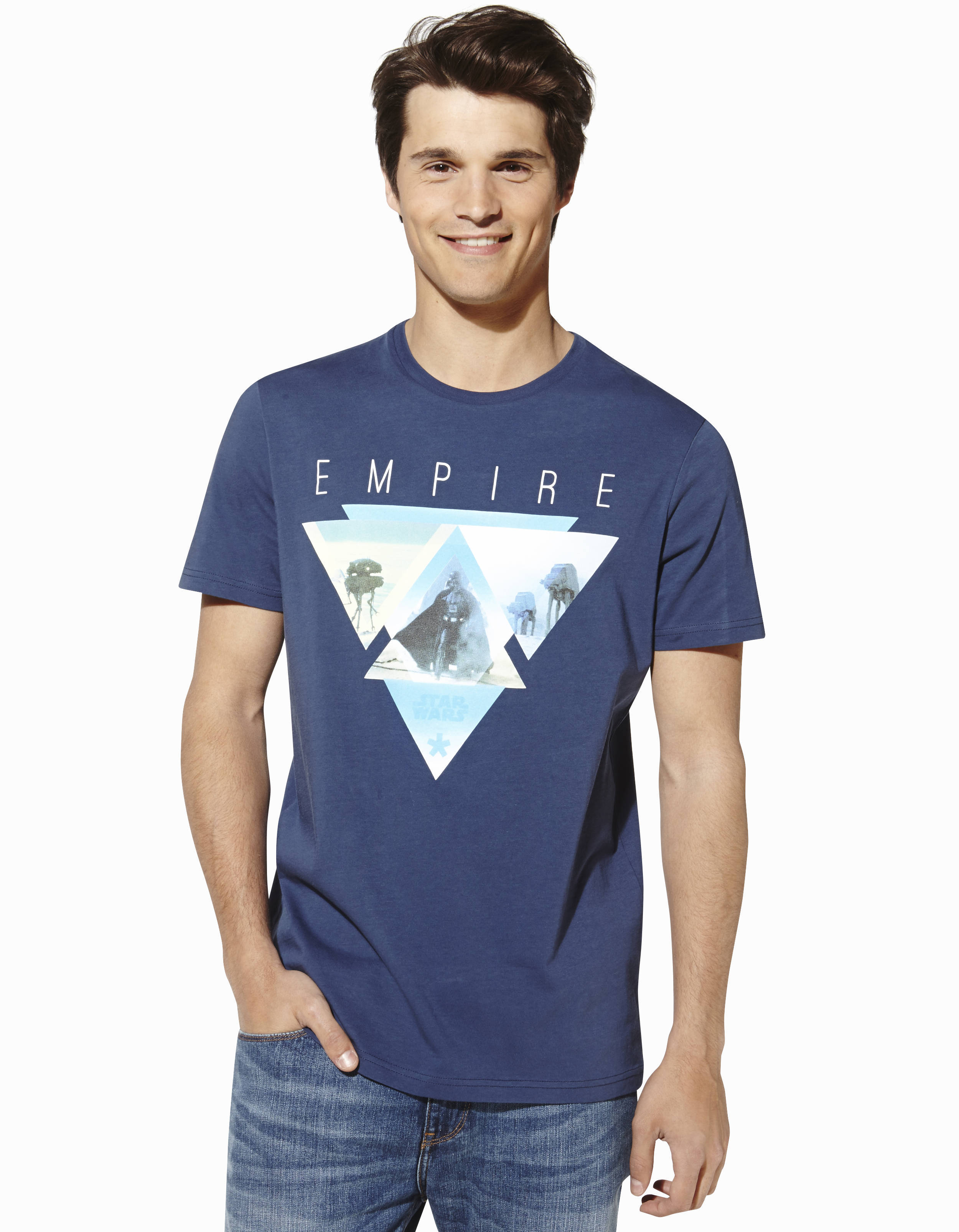 t shirt star wars triangle empire en coton lbeempire. Black Bedroom Furniture Sets. Home Design Ideas