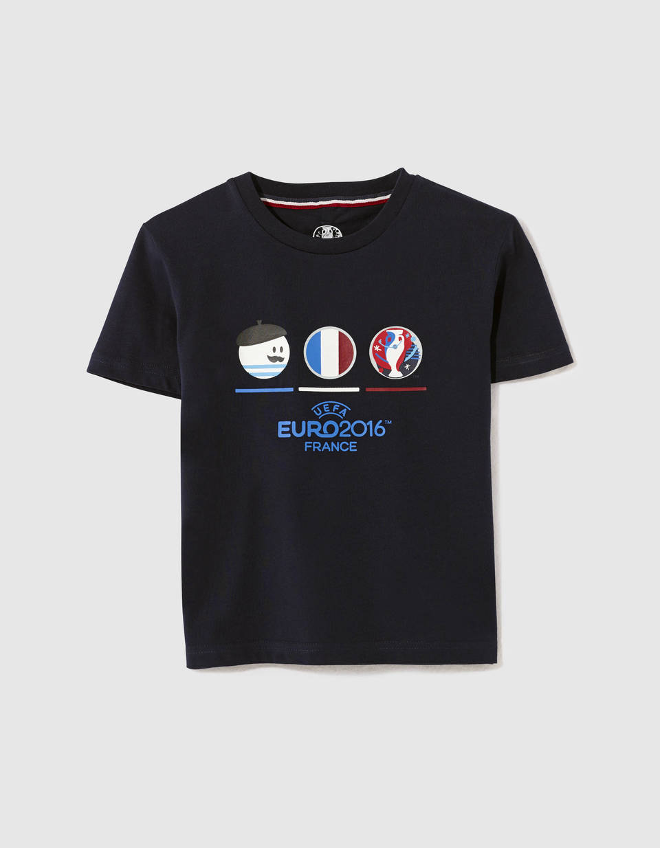 tee shirt enfant uefa 100 coton ldefootki celio france. Black Bedroom Furniture Sets. Home Design Ideas