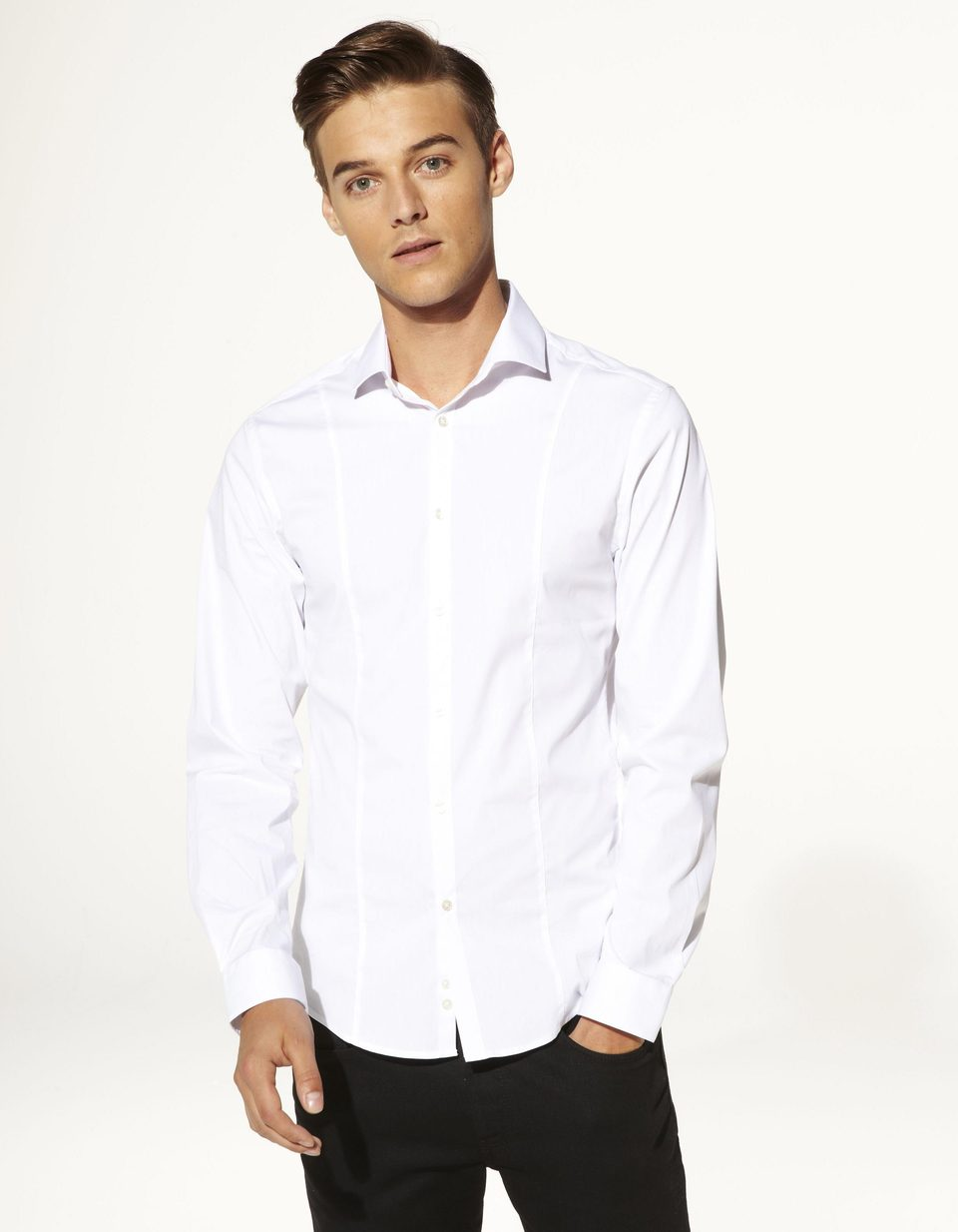 Chemise coupe extra slim coton stretch