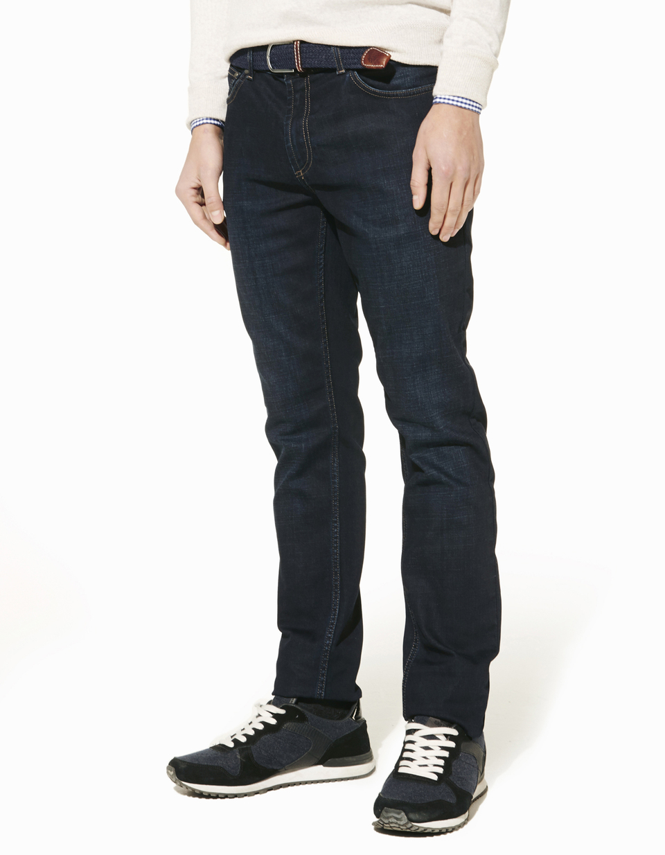 Jean coupe slim coton stretch