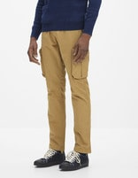 Pantalon battle - GOCARCA_CAMEL - Vue de face - Celio France