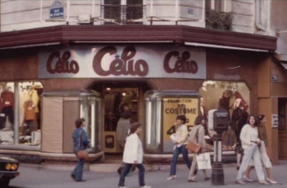 magasin celio paris 1978