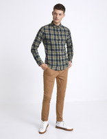 Chino skinny extensible - MOTALIA4_TERRABROWN - Silhouette - Celio France