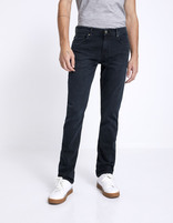 Jean straight C15 Supersoft  - MOSOFTY_BLUEBLACK - Vue de face - Celio France