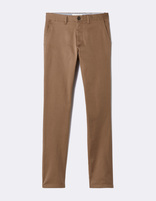 Chino skinny extensible - MOTALIA4_TERRABROWN - Image à plat - Celio France