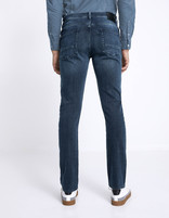 Jean straight C15 Supersoft - bleu - MOSOFTY_BLEU - Vue de dos - Celio France