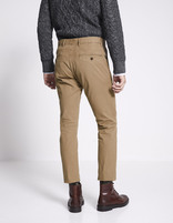 Chino slim coton stretch - MOTIFS_CAMEL - Vue de dos - Celio France