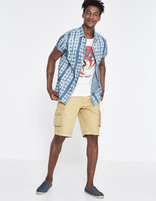 T-shirt Beach Boys Universal - LGEBOYS_OFFWHITE - Silhouette - Celio France