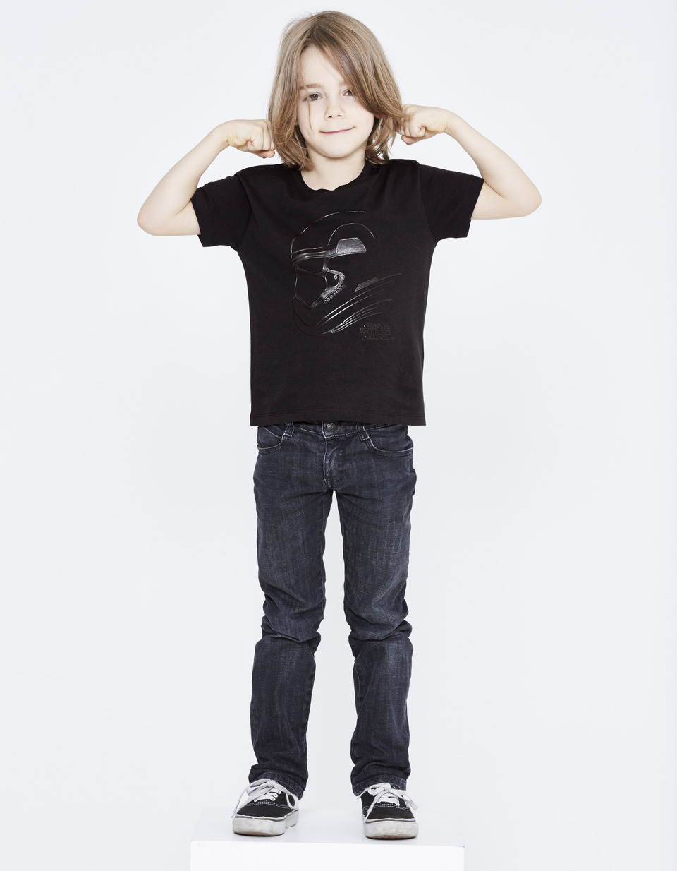 t shirt enfant star wars coton ljestormki celio france. Black Bedroom Furniture Sets. Home Design Ideas