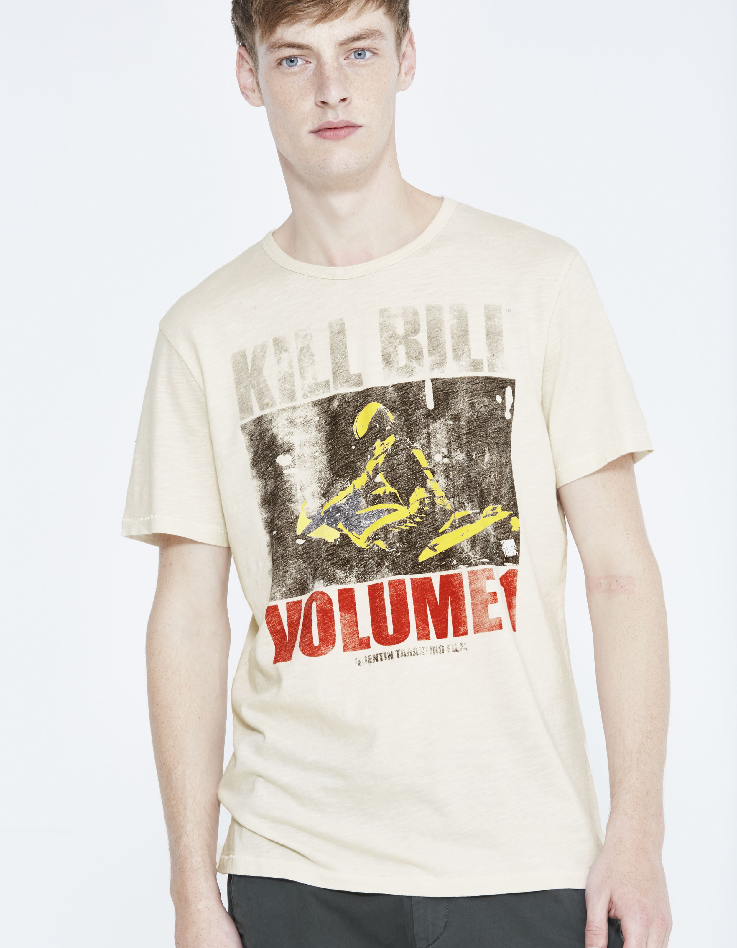 t shirt 100 coton tarantino ljekilbil celio france. Black Bedroom Furniture Sets. Home Design Ideas