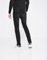 jean slim C25 stretch - FOSLOIR25_NOIR - Vue de dos - Celio France