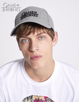 Casquette Game of Thrones - LMICAPGAME_GREY - Image à plat - Celio France