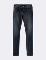 Jean straight C15 Supersoft  - MOSOFTY_BLUEBLACK - Image à plat - Celio France