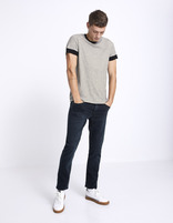 Jean straight C15 Supersoft  - MOSOFTY_BLUEBLACK - Silhouette - Celio France
