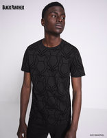 T-shirt Black Panther 100% coton - LMEFLOCK_BLACK - Vue de face - Celio France