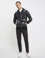 Sweat Jean-Michel Basquiat - LNEJEANMI_BLACK - Silhouette - Celio France