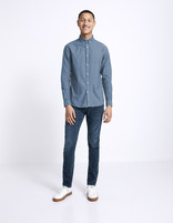 Jean straight C15 Supersoft - bleu - MOSOFTY_BLEU - Silhouette - Celio France