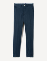Chino slim coton stretch - MOCHIC_NAVY - Image à plat - Celio France