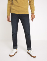 Jean slim C25  stretch - BRUT - MOKETE_BRUT - Vue de face - Celio France