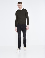 jean slim C25 stretch - FOSLOIR25_NOIR - Silhouette - Celio France