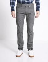 Jean slim C25  stretch  - MORABO_GRIS - Vue de face - Celio France