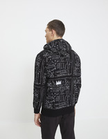 Sweat Jean-Michel Basquiat - LNEJEANMI_BLACK - Vue de dos - Celio France