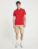 Polo piqué Keith Haring - LNEKHPOLO_RED - Silhouette - Celio France