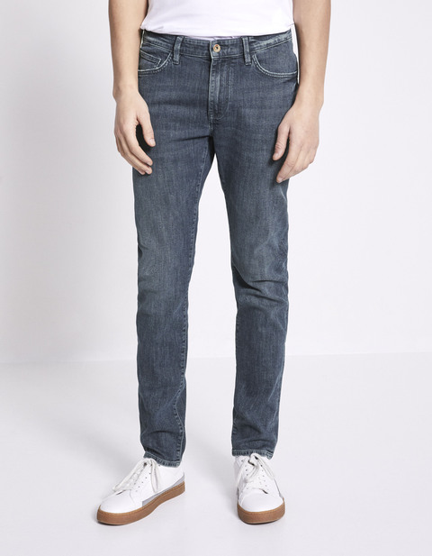 Jean slim 5 poches - NOSLIGHT25_DOUBLESTONE - Vue de face - Celio France