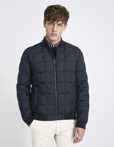 Bomber light déperlant - NUBOMB4_MARINE - Vue de face - Celio France