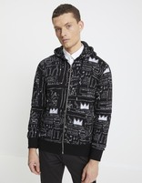 Sweat Jean-Michel Basquiat - LNEJEANMI_BLACK - Vue de face - Celio France