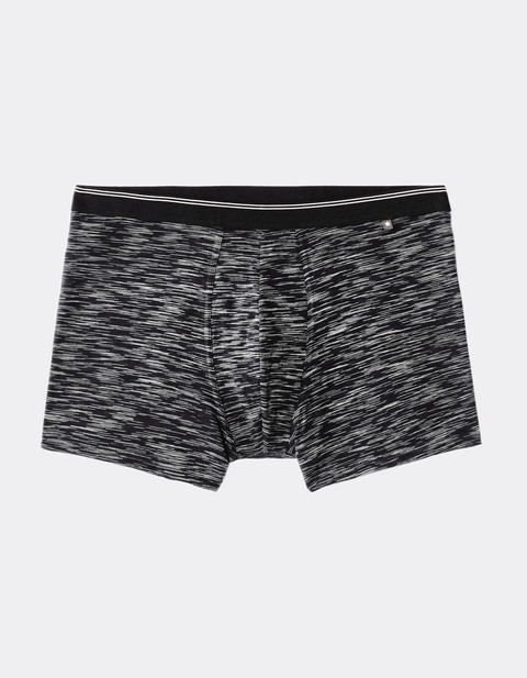 boxer coton stretch - MIKE_BLACKSPACE - Vue de face - Celio France