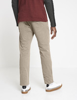 Chino regular coton stretch - MONO_TAUPECLAIR02 - Vue de dos - Celio France