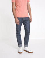 Jean slim C25  stretch  - MOSHINE_BLEU - Vue de face - Celio France