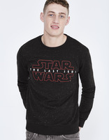 sweat imprimé Star Wars en coton - LJESTAR_BLACK - Vue de face - Celio France