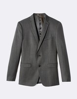 Costume Dac slim laine italienne - Marron - LOOK_COSTUME_MUDABROWN - Image à plat - Celio France