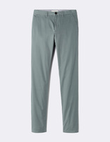 Chino straight coton stretch - MOTA_MUSKGREEN - Image à plat - Celio France