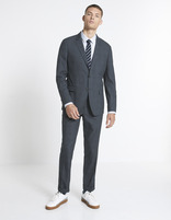 Pantalon WILLY slim - MOWILLY_ANTHRACITE - Silhouette - Celio France