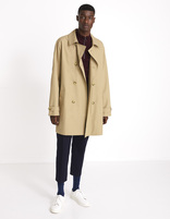 Trench déperlant - MUTRENCH1_BEIGE - Silhouette - Celio France